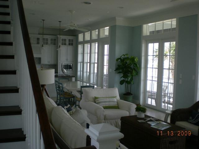 'The Corner Lot House' family-room