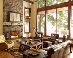 The Cottage rustic-family-room