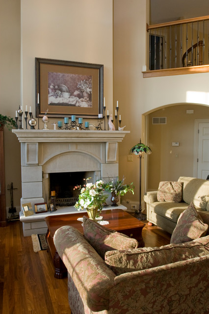 The French Classic traditional-family-room