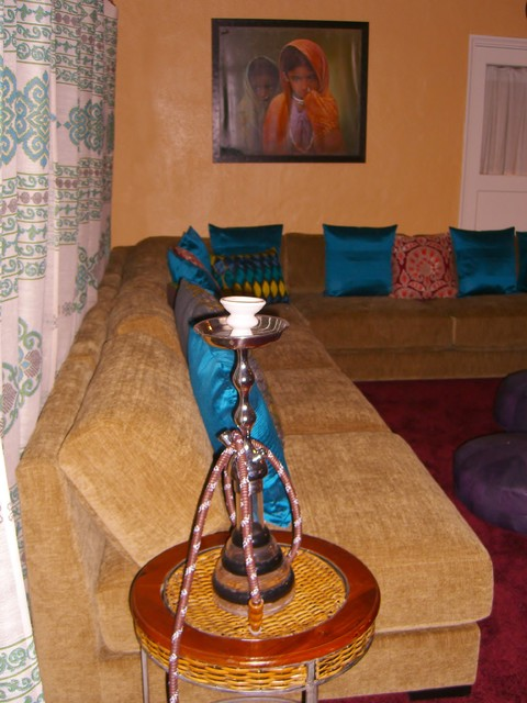 "The ""Hookah Room!"" asian-family-room"