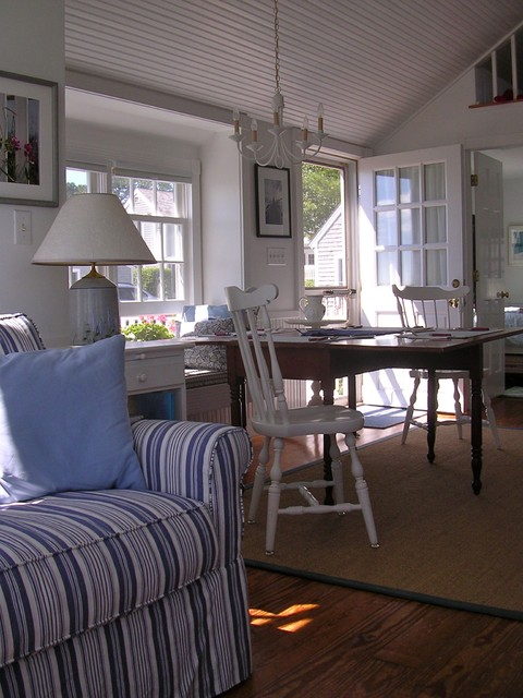 The Little House on Cape Cod/Becky Harris eclectic-family-room