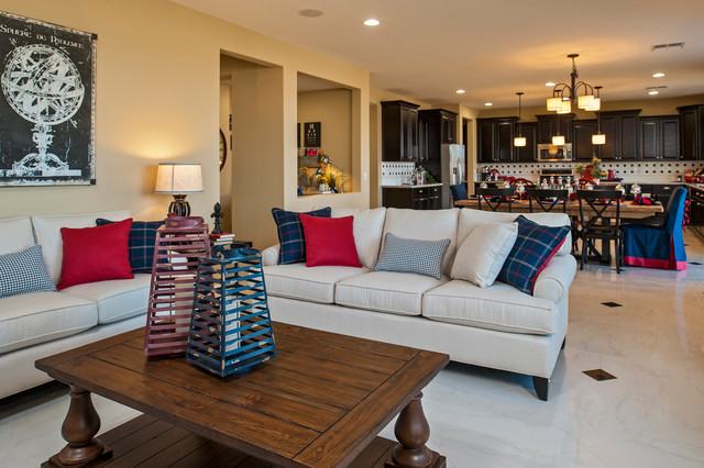 The Oleander Plan at Arroyo Norte | Phoenix, AZ traditional family room