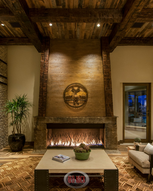The Ranch Rustic Revelation Rustic Family Room