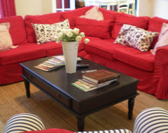 The Style Sisters eclectic family room