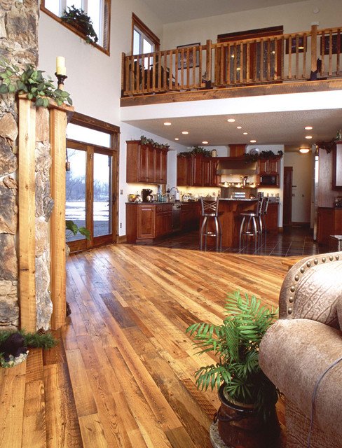 The Woods Company traditional-family-room