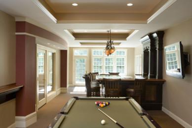 Thomas Buckborough & Associates traditional-family-room