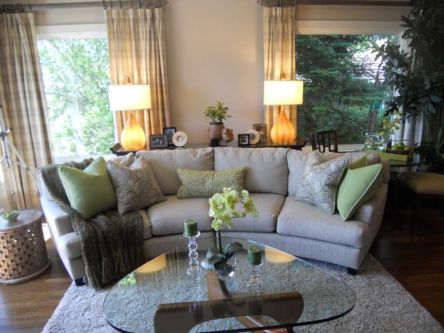 Tiburon family room contemporary-family-room