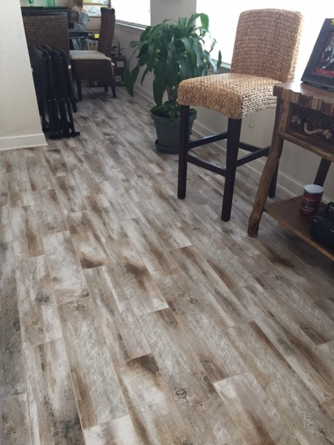Tile Floors wood look Planks More Info