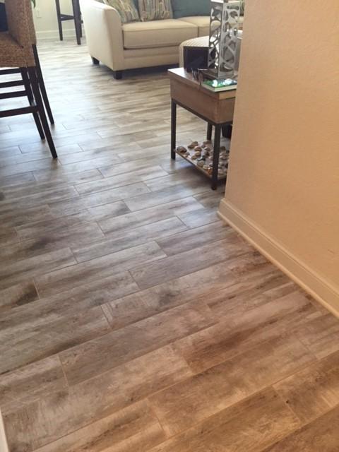 Tile Floors Wood Look Planks