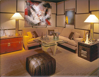 Tomar Lampert Associates - Showhouse Portfolio eclectic family room