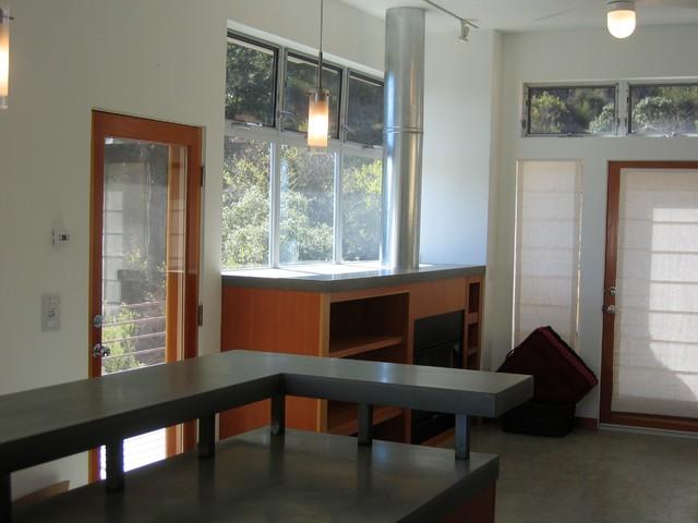 Topanga Retreat contemporary-family-room