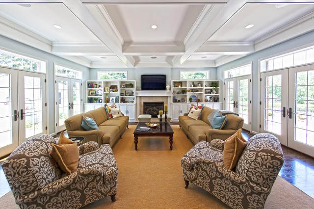 Town amp Country MO Home Addition Traditional family room