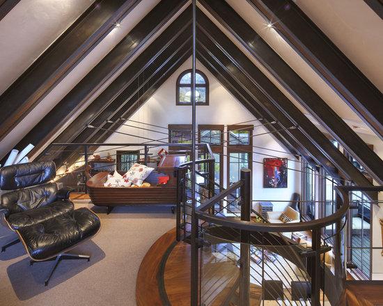 Open Attic Home Design Photos