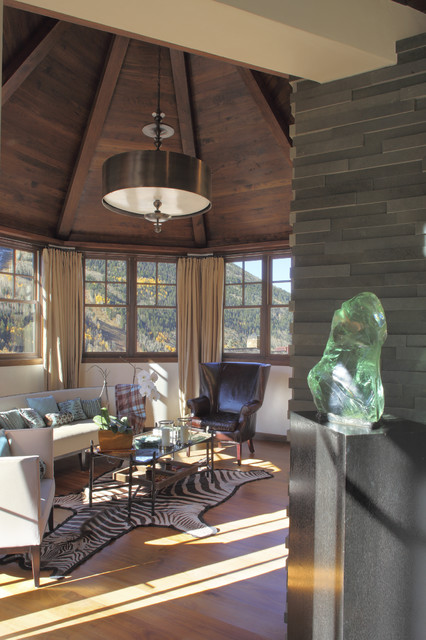 Town of Telluride Historic contemporary-family-room