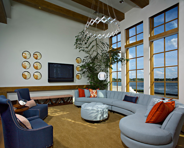 Tradewinds Contemporary Family Room Other By