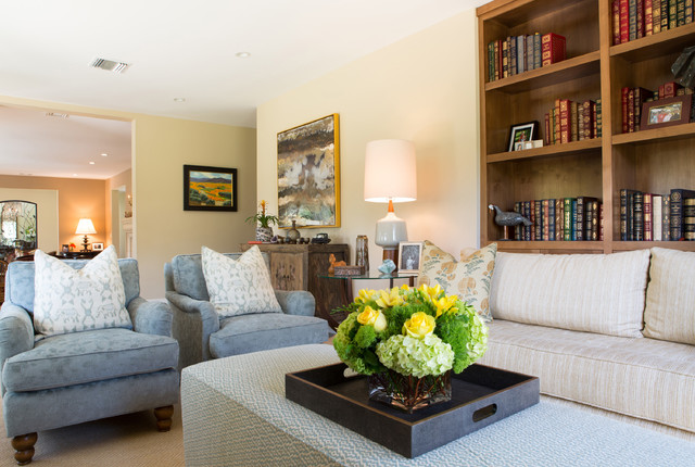 Traditional cottage in pasadena traditional family for The family room pasadena
