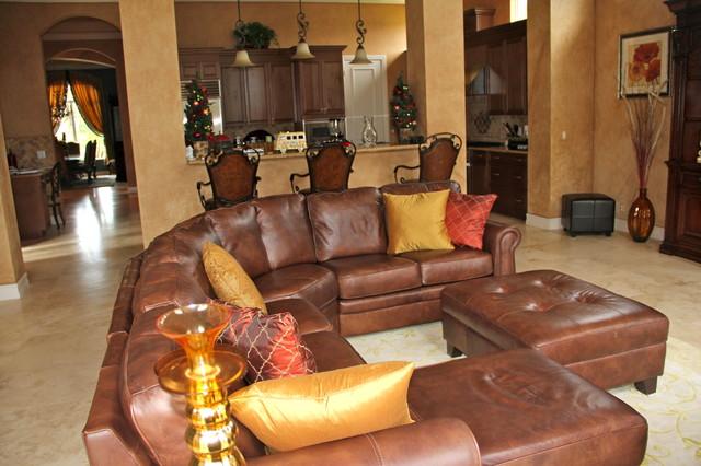 Stonebrook Estates traditional-family-room