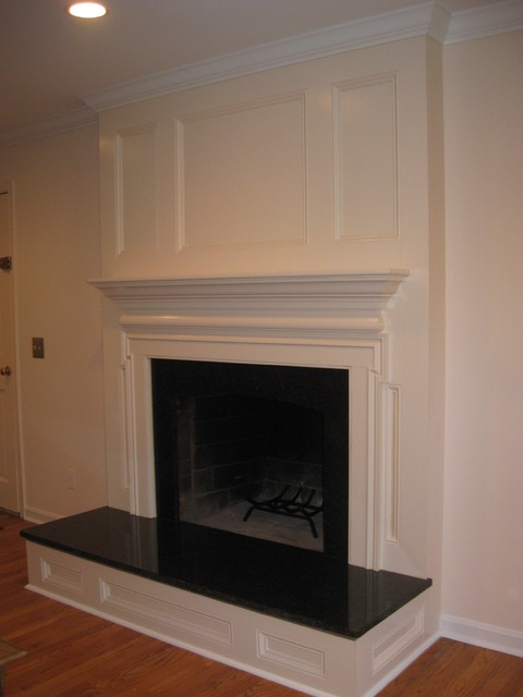 Custom Fireplace Surround Traditional Family Room Dc
