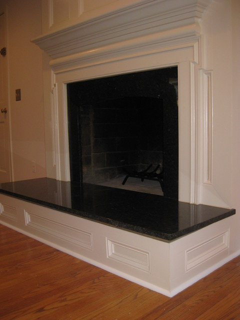 custom fireplace surround - Traditional - Family Room - DC Metro ...
