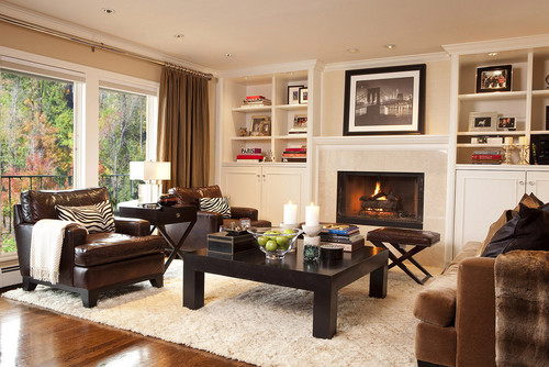 Simone Design Blog|Fall Living Room