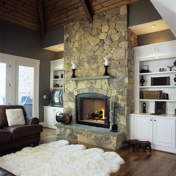 Overlook traditional family room
