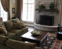 New Construction - Oak Brook traditional-family-room