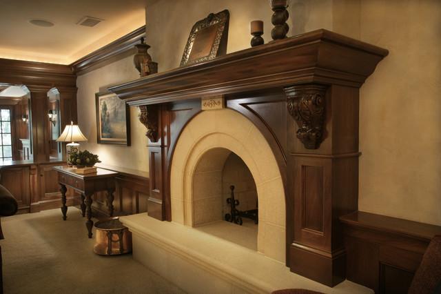 White Oaks Renovation traditional-family-room
