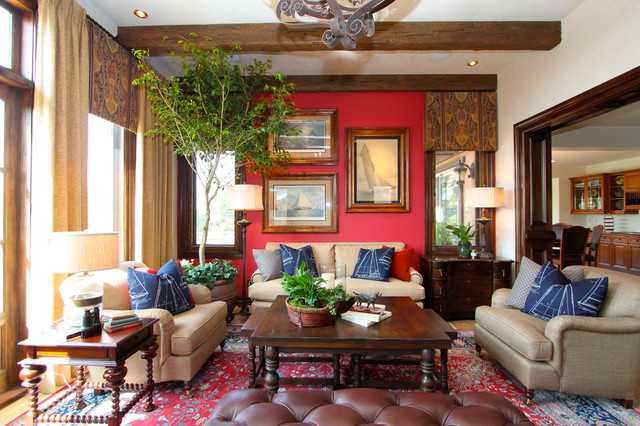 4th Of July Traditional Family Room