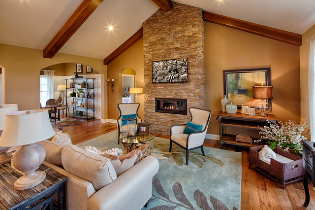 Great Room By Schumacher Homes Traditional Family Room