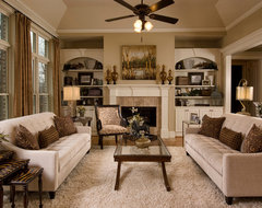 Dining Room to Family Room traditional-family-room