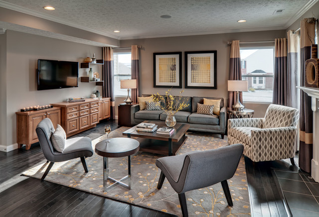 Trails of Shaker Run contemporary-family-room