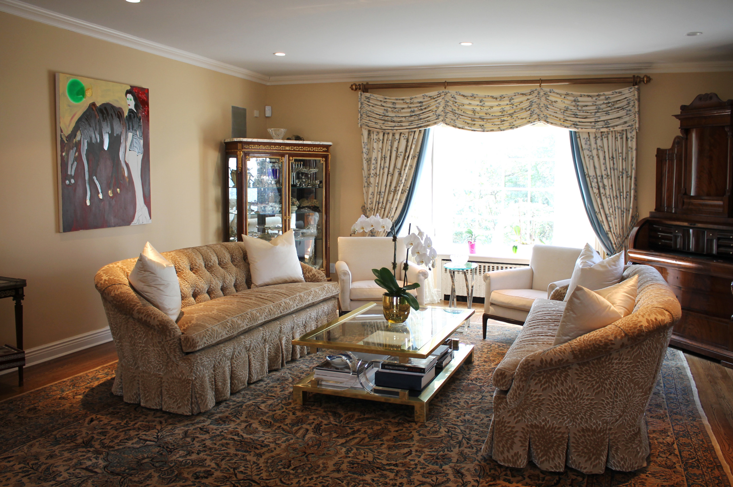 Transitional Decor for Classic Kings point, NY