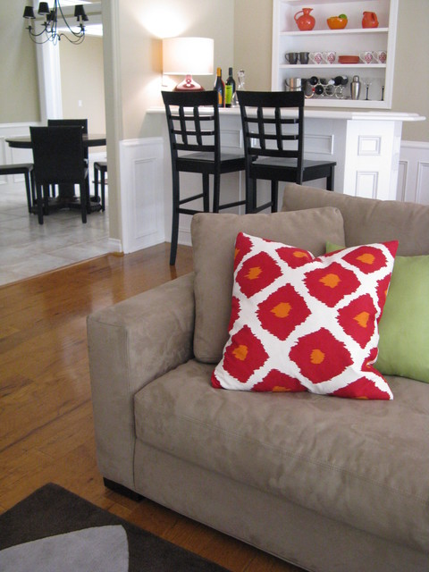Transitional Family Room Decor 2 eclectic-family-room