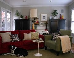 Fiorella Design transitional-family-room