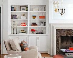 Lenox Kitchen & Family Room Renovation transitional-family-room