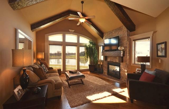 Designed for Living traditional-family-room