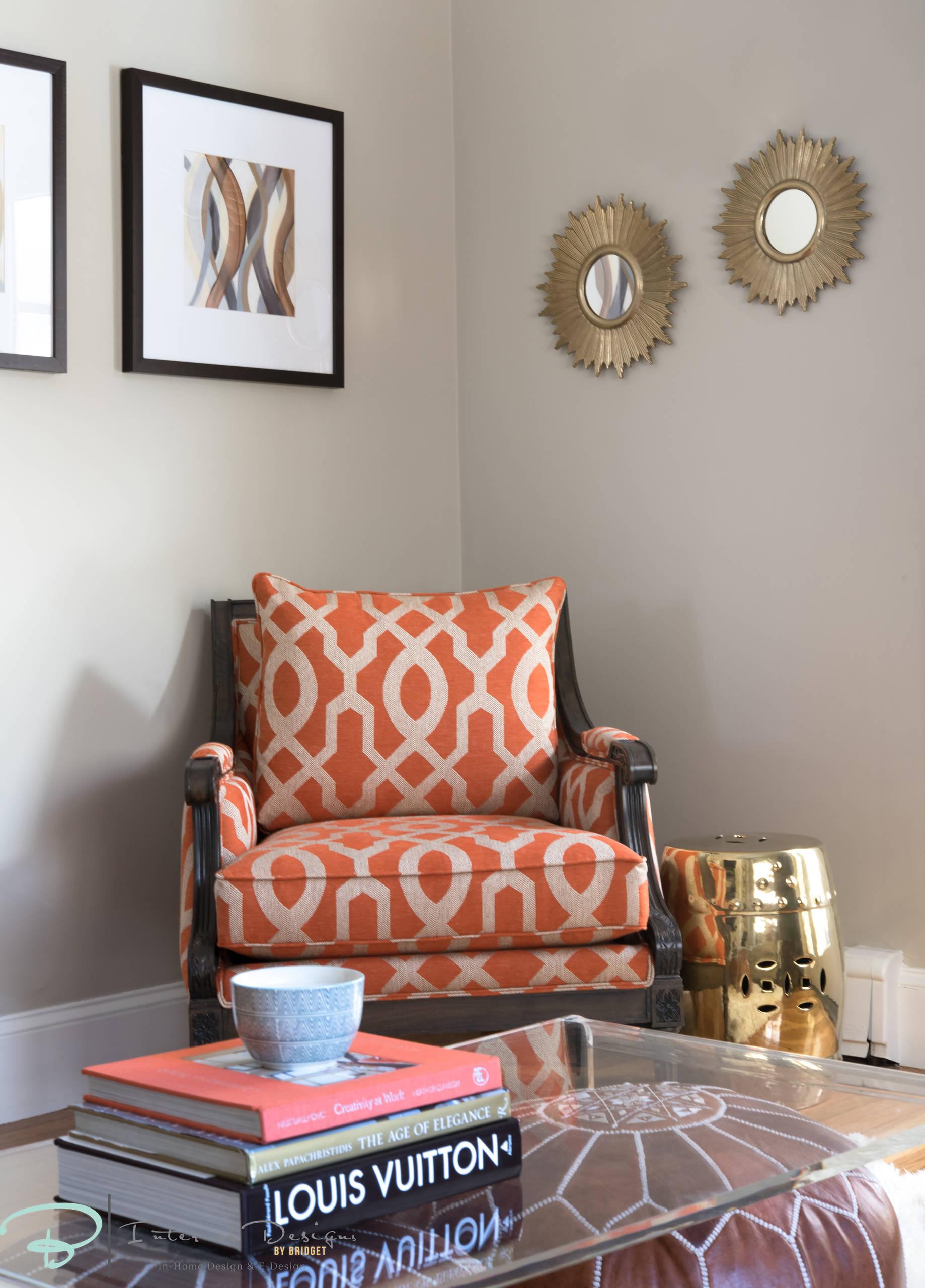 Transitional Sitting Room