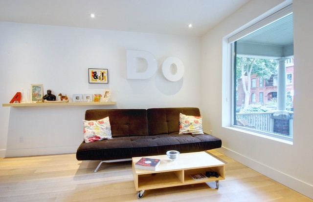 Trinity-Bellwoods Townhouse contemporary-family-room