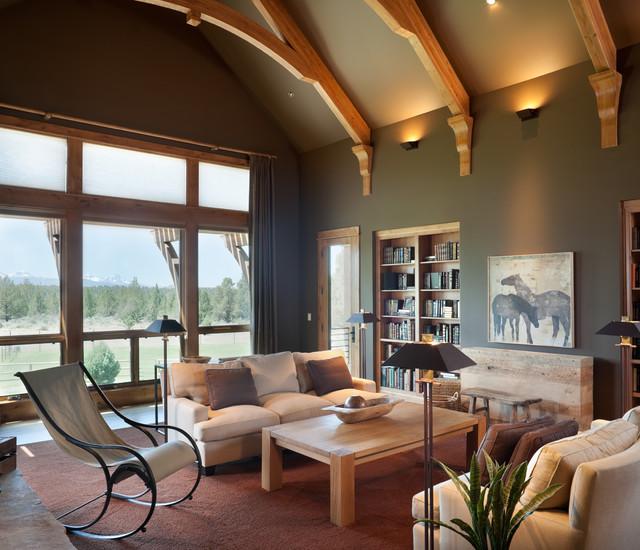 True Residence - Rustikal - Wohnzimmer - Portland - von Alan ...