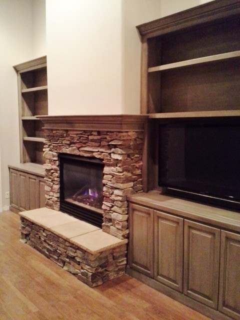 Tuckey Lane Fireplace & Built-ins traditional-family-room
