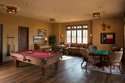 Why Not Add A Poker Table To Finish The Place Off?