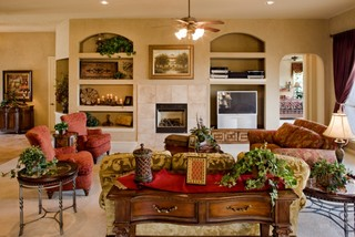 Tuscany Great Room by Sitterle Homes
