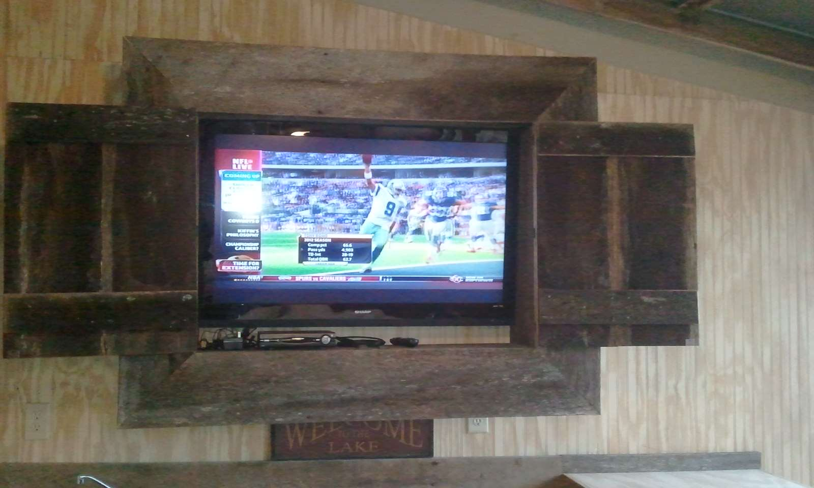 TV Cabinet & Curved Bar