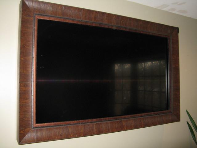 Wooden Television Frame Wooden Design Ideas