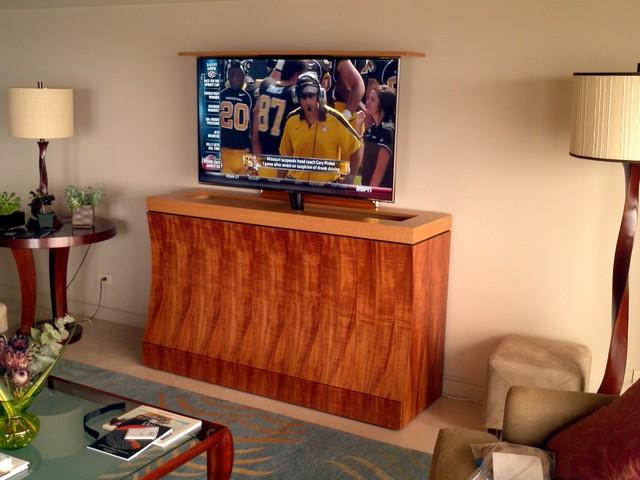 Cabinet Tronix Florida Tv Lift, Tv Lift Furniture
