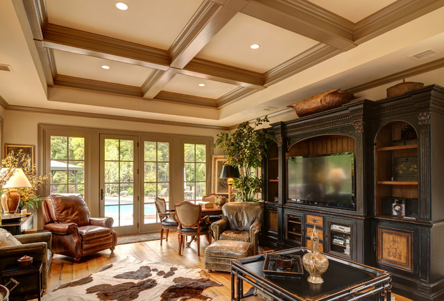 Two room addition traditional family room other for Family room addition plans