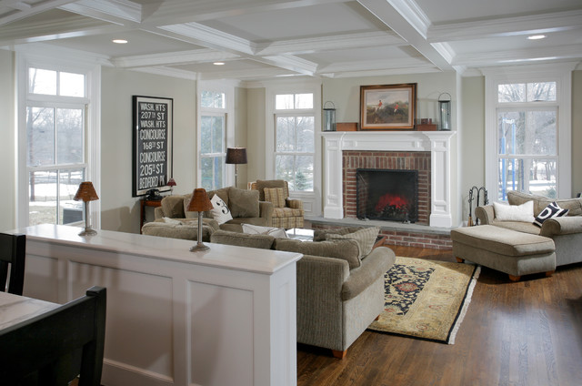 Union Hill Residence Traditional Family Room New