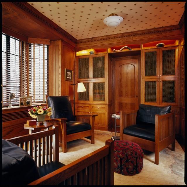 Upper Eastside Apartment traditional-family-room