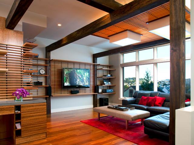 Upper Noe Valley Residence contemporary-family-room