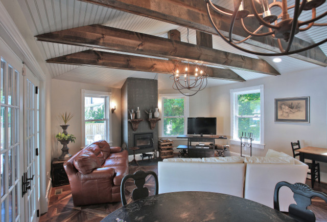 Upton Architecture, LLC eclectic-family-room